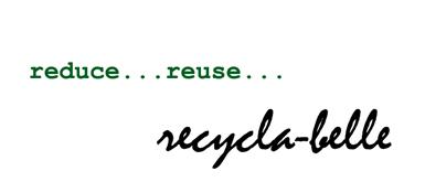 recycla-belle fashion sellabration